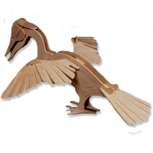 3-D Wooden Puzzle - Small Darter -Affordable Gift for your Little One! Item #DCHI-WPZ-E036