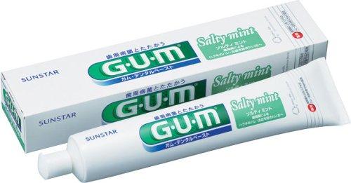 GUM デンタルペースト ソルティミント 150g