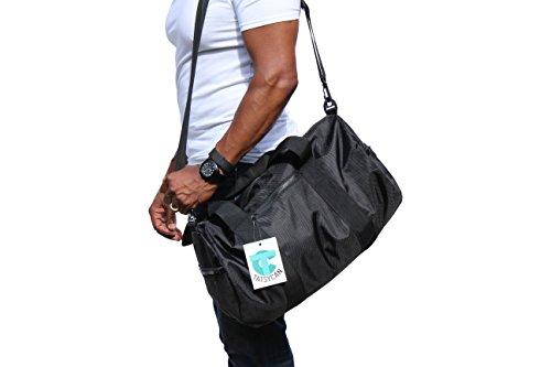 lightweight-waterproof-foldable-duffel-barrel-holdall-bag-for-travel-gym-sports-overnight-weekend-bl