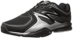New Balance Men\'s MX1267 Training Shoe,Black/Silver,11 2E US