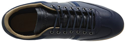 Lacoste Men's Misano 36 Srm Fashion Sneaker, Navy, 9 M US