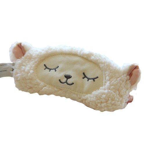 (ラピッド) RAPIDE かわいい おやすみマスク きつね ふくろう アイマスク 動物 アニマル【オリジナルエコバックとの2点セット】 (ヒツジ)