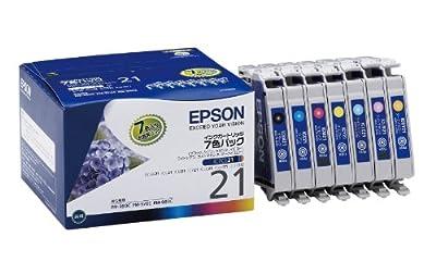 EPSON IC7CL21 インクカートリッジ(PM-950C用7色パック)
