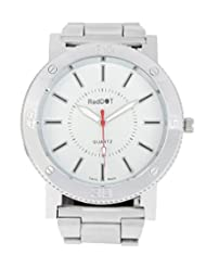 Red Dot White Dial Analog Watch For Men(RD-H)