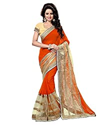 khanak export Women's Georgette Saree(KE_04_Multi-Coloured_Free Size)
