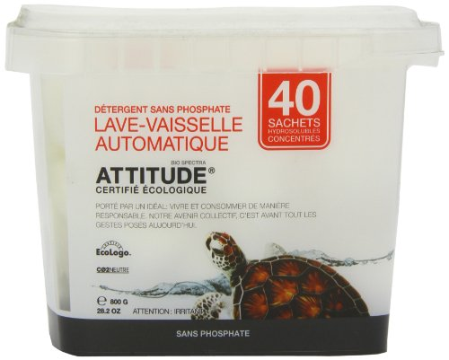 Attitude Automatic Dishwasher Detergent 800 G