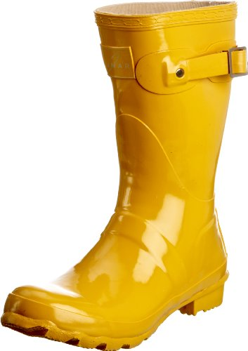 Lunar Sweden ELW032, Damen Gummistiefel, Gelb (Yellow), 40,5 EU / 7 UK