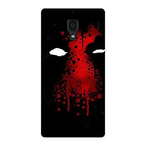 Enticing Horror Red Back Case Cover for Redmi 1S