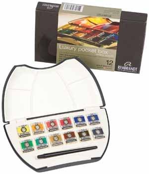 rembrandt-acuarela-pocket-box-12-pastillas