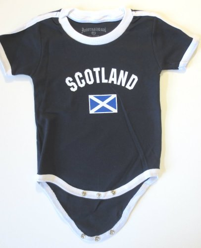 SCOTLAND BABY BODYSUIT 100%COTTON.SIZE FOR 12 MONTHS.NEW - 1