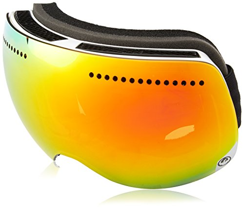 Dragon Alliance Advanced Project X Ski Goggles, Inverse/Red Ion + Yellow Blue Ion