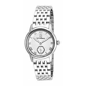 Invicta S. Coifman SC0347 30mm Silver Steel Bracelet & Case Mineral Women's Watch