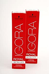 Schwarzkopf Igora Royal New 4-99 2 Pack (2x60ml)