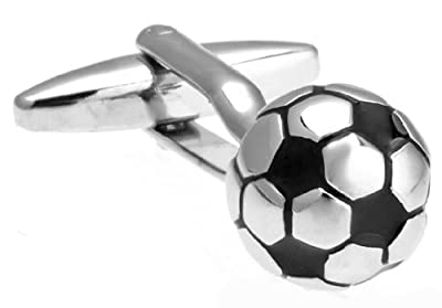 Soccer Ball 3D Cufflinks with a Presentation Gift Box