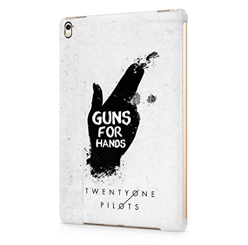 Twenty One Pilots Guns For Hands iPad Pro 9.7 Hard Plastic Case Cover
