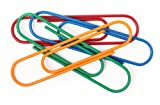 International Arrivals Clip It Max Oversized Paper Clips, Primary Colors, 8-Count (134-25)