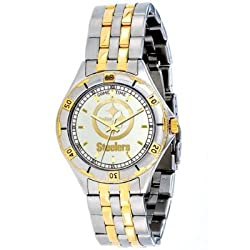 NFL Men's FT-PIT General Manager Series Pittsburgh Steelers Watch