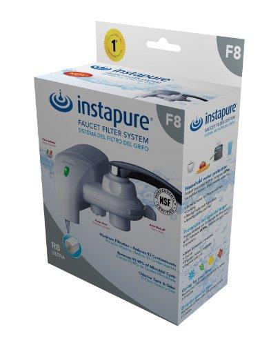 InstaPure F8WU-1ES Faucet Mount Water Filter System WhiteB0002AJPXQ