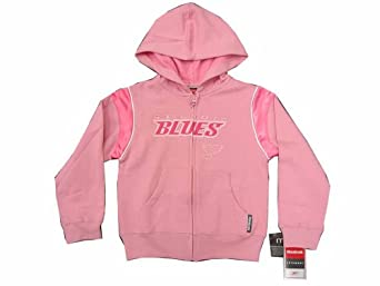 Amazon St Louis Blues NHL Pink Kids Hooded