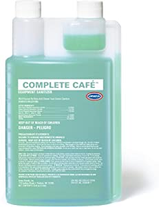 Urnex Complete Cafe Equipment Sanitizer, 32-Ounce by Urnex