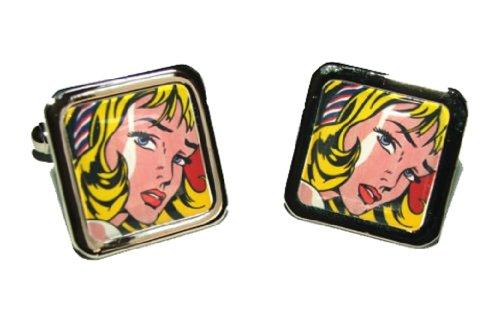 lichtenstein-girl-with-hair-ribbon-art-cufflinks