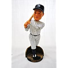 NEW YORK YANKEES RARE BABE RUTH HALL OF FAME STAT COOPERSTOWN COLLECTION BOBBLE HEAD... by Forever Collectibles