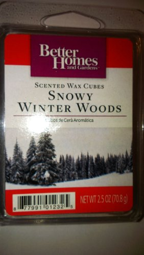Better Homes And Gardens Scented Wax Cubes Snowy Winter