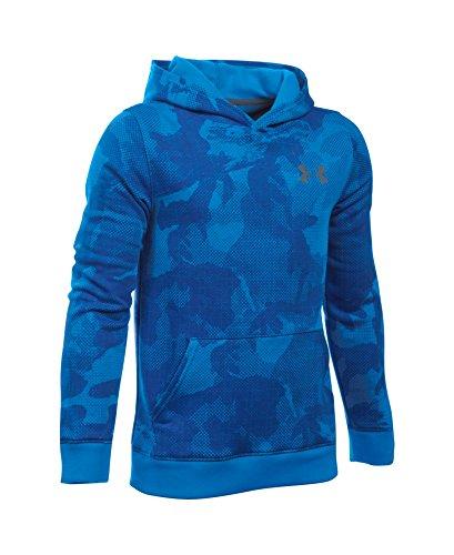 Under Armour Boys' Titan Fleece Printed Hoodie, Sailing Blue (992), Youth Large