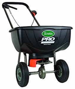 Scotts 75901 Turf Builder Pro Edge Guard Broadcast Spreader