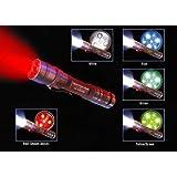 Surefire A2-HA-BL A2 Aviator Flashlight Hard Anodized w/Blue LEDs