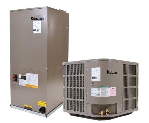 Klimaire CRM30C2P13/ARAM30H2P/HK102C 13 SEER 2.5 Ton Ducted Central Air Conditioner System with 8-kilowatt Heat Strip