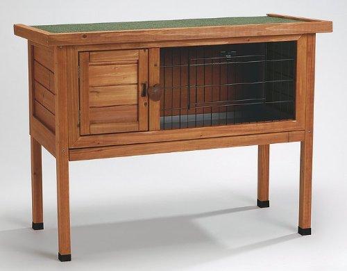 Clapier en bois pour lapins Dabby – 95 x 45 x 70 cm