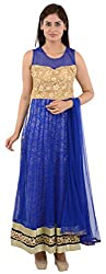 Wedding Pearls Women's Dress (Blue)