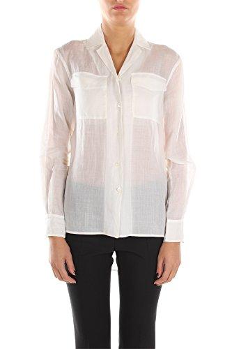 508820U580BCC01-Cline-Chemises-Femme-Ramie-Blanc