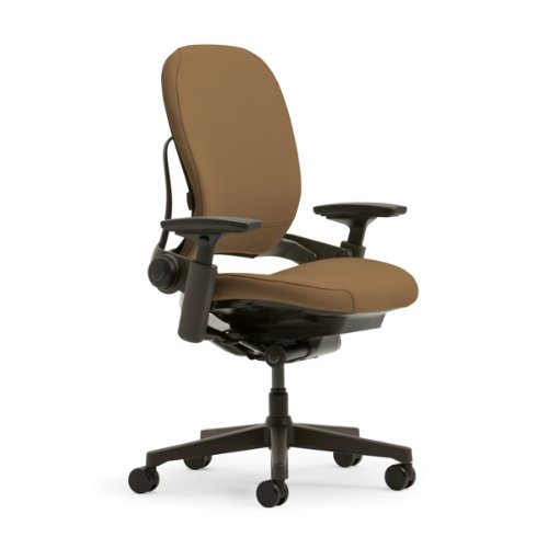Steelcase Leap Plus Fabric Chair, Camel