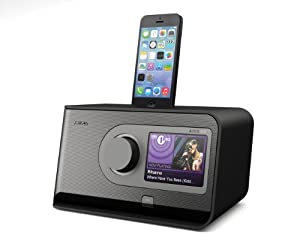 revo axis x3 internet dab dab fm radio with alarm clock lightning dock for iphone ipod. Black Bedroom Furniture Sets. Home Design Ideas