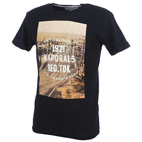 Kaporal 5 Derly navy-mc-T-shirt junior-Maglietta a maniche corte blu navy / blu notte 16 anni