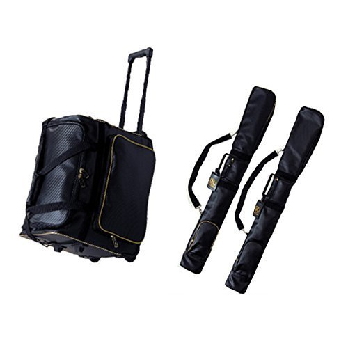 Crown winning series carry bag & bamboo sword case (carry bag: black, sword case: black)