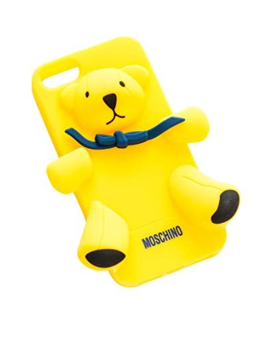 Moschino Funda iPhone 5 Amarillo