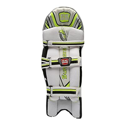 SS Matrix Men's RH Batting Legguard (White)
