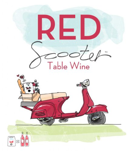 Nv Red Scooter Red Table Wine 1.5 L
