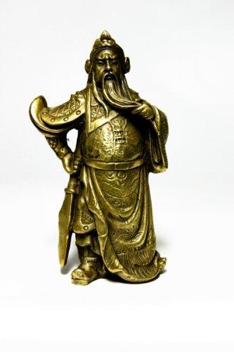 風水・関羽様の置物(銅製・小)