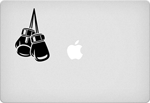 [Boxing Gloves Macbook Decal] (Pixel Gloves)