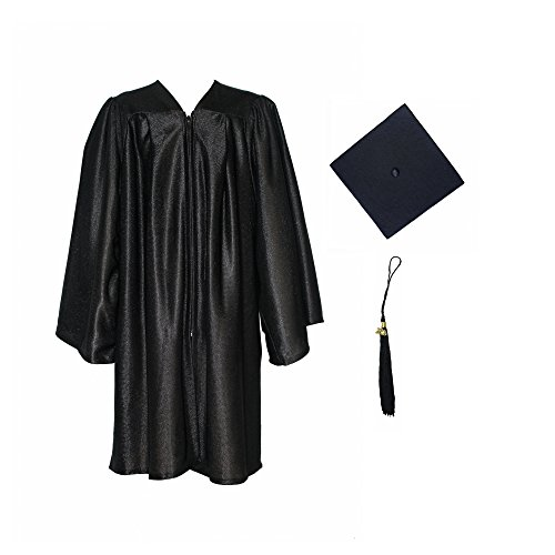 GraduationForYou Shiny Kindergarten Gown Cap Tassel 2016 (Graduation Cap And Gown For Kids compare prices)