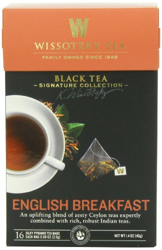 Wissotzky Tea Signature Collection English Breakfast Tea, 1.41 Ounce