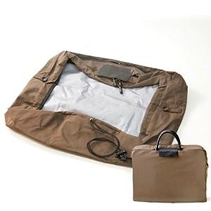 【レインカバーB4サイズ カーキ】ビジネスバッグを雨から守る(No.F900101-KH)