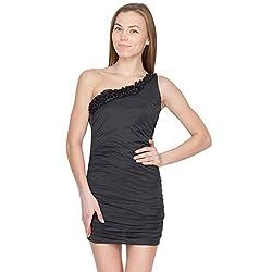 Species Women's A-Line Dress (S-4112_Black_XXX-Large)