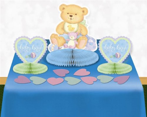 Precious Bear Blue Table Kit