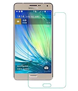 DRaX(TM) Samsung Galaxy A7 Round Curved 2.5D Edge 9H Hardness Toughened Tempered Glass Screen Guard Protector