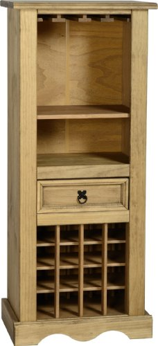 New Grade A Full Living Room Range - Mexican Pine Living Room Furniture - (Wine Rack) Black Friday & Cyber Monday 2014